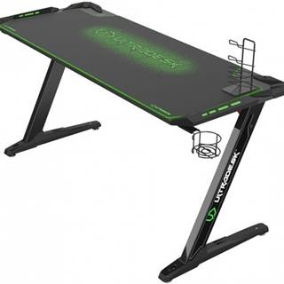 Herný stôl ULTRADESK SPACE XXL GREEN UDESK-SP-GX