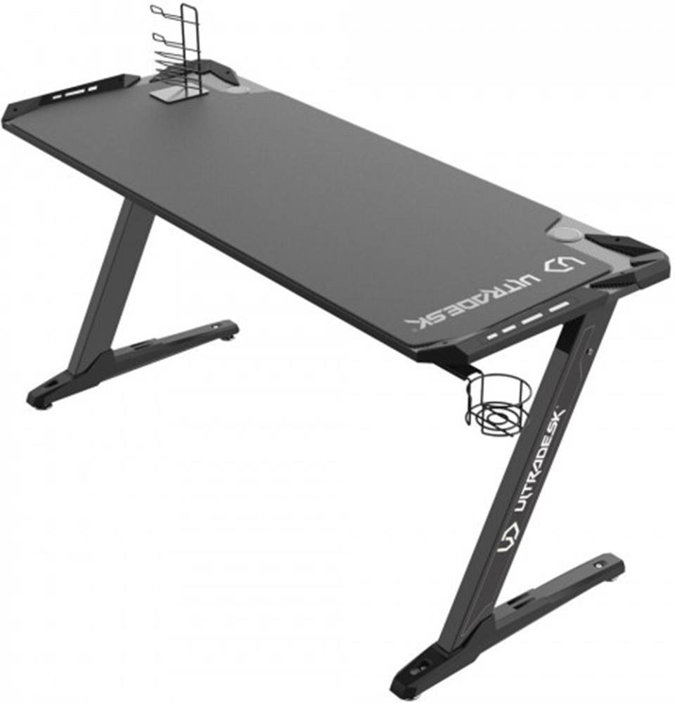 Ultradesk Herný stôl ULTRADESK SPACE XXL BLACK UDESK-SP-BX